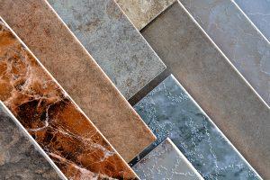 James Frye Construction ceramic flooring installation