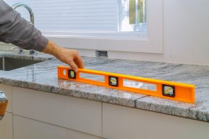 James Frye Construction counter top installation