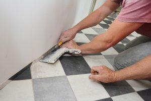 James Frye Construction flooring installation